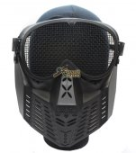 Tactical Airsoft Full Face Mask (Black)