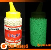 GoldenBall 0.20g 6mm Glow In Dark Airsoft BB 2000rd with Bottle