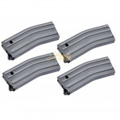 MAG 170rd Magazine for SYSTEMA PTW M4 / M16 Series AEG (4pcs)