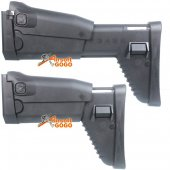 DBOYS SCAR Side Folding Retractable Stock for D-BOYS( SCAR Gen III) & CyberGun MK16 MK17 AEG