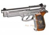 SAMURAI EDGE Biohazard M9 Standard MOD S.T.A.R.S GBB Pistol (Silver)