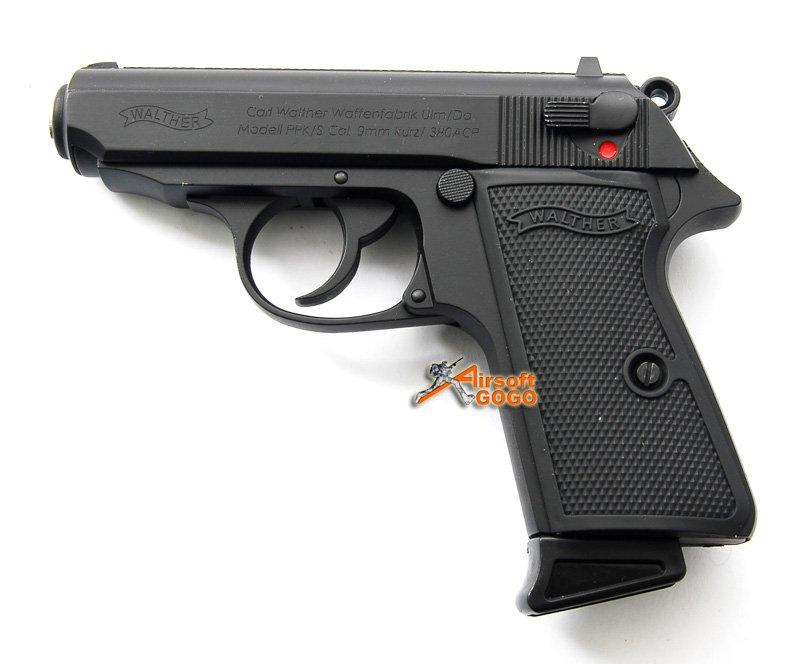 JAMES BOND 007 AIR SOFT PPK (007) GBB Pistol Gun Black ...