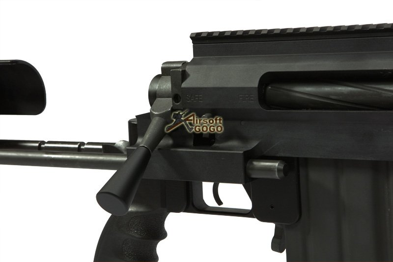 Socom Gear M200 Cheytac Intervention Gas Sniper Rifle (Black