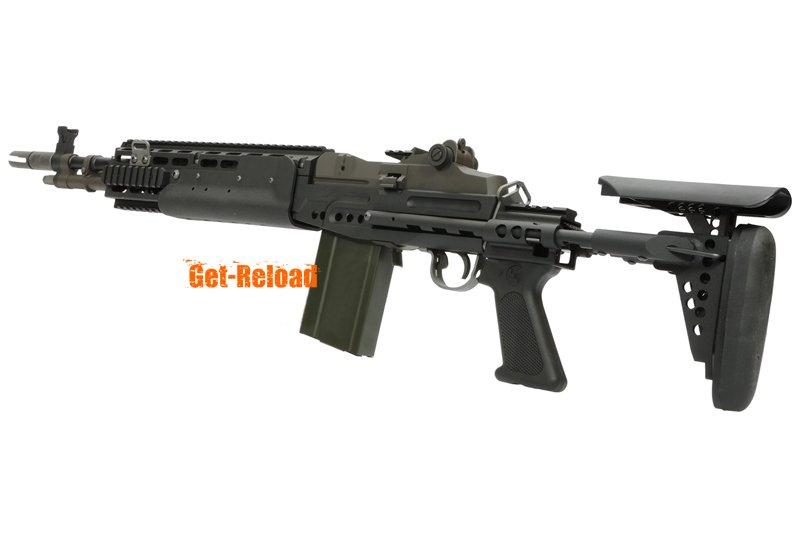WE M14 EBR Gas Blowback Rifle (Black) - AirsoftGoGo