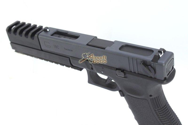 We Metal Slide Hard Kick G18c Gbb Pistol With Compensator