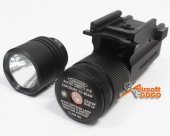 Quick Release Green Laser + Flashlight for 20mm Rail