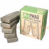 Beta Project PTS MAGPUL ABS PMAG 75rd for M4/M16 AEG (Dark Earth, 5pcs Box Set)
