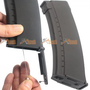 CYMA 500rd Flash Wire-Winding (String) Magazine for AK Series Airsoft AEG  CY-C25L