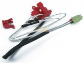 King Arms Silver Cords & Switches Set for Ver.2 Gearbox (Rear)