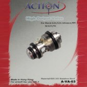 ACTION High Output Valve for Marui G17/G26/ M9 Series GBB