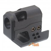 Compensator for WE M9A1 M92 M92F GBB - Black