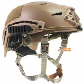 NEW EXF BUMP Tactical Helmet (Tan Color) For Airsoft Paintball