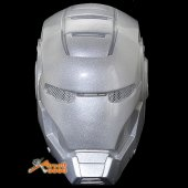 Iron Man Protective Helmet Mask For Airsoft Paintball Cosplay Silver