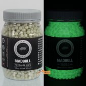 MadBull Precision 0.25g Dark Knight Tracer (5.95 +/- 0.01mm) BB 2000 rds (Glow a bright Green / Bottle)