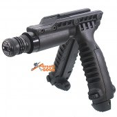 Bipod Grip Integate Green Laser For KWA Vector GBB  (GREEN LASER)