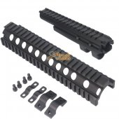 CYMA Top & Lower AK74 Aluminum Handguard Rail Set for Airsoft AK74 Series AEG
