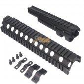 CYMA Top & Lower AK74 Aluminum Handguard Rail Set for Airsoft AK74 Series AEG