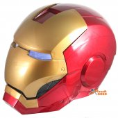 Iron Man Full Helmet Mask with LED Light Eye