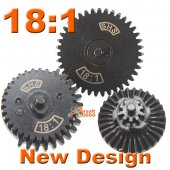 SHS New Desgin 18:1 Normal Speed Gear Set for Gearbox V2/3
