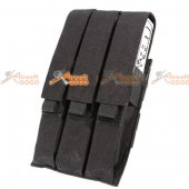 Pro-Arms Triple Mag Pouch for KRISS / MP7 Magazine (Black)