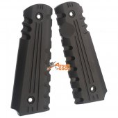 ARMY FORCE Alum 1911 Grip Cover - Black