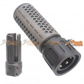 Army Force 5 Inch QDC Suppressor 5.56  -14mm CCW w/ Quick Detach Function