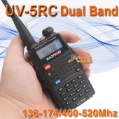 BAOFENG Dual band UV-5RC VHF/UHF Radio Walkie Talkie