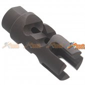 Fish Bone Style Flash Hider Type 3 -14mm CCW