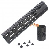 CNC Aluminun Key Mod 9 inch Rail system for M4 AEG