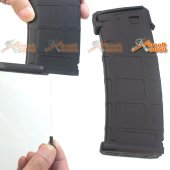 SEALS 300rd Flash Wire-Winding (String) ABS Plastic Magazine for M4 Airsoft AEG