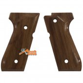 Real Wood Pistol Grip Cover for Maui M92F Airsoft GBB
