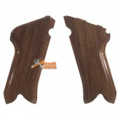Real Wood Pistol Grip Cover for Maui P09 Airsoft GBB