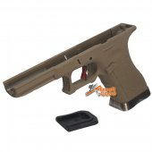 ARCHIVES Custom IPSC Frame for WE G17 G18C G34 G35 - Dark Earth