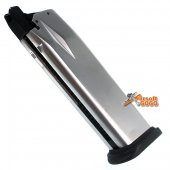 WE 26rds Magazine For WE, Marui XDM 4.0 Airsoft GBB - Silver