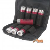 APS CO2 Cartridge with Bag for CAM870 Shotgun (8pcs Pack RED)