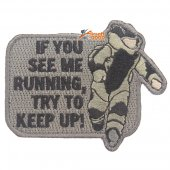 Mil-Spec Monkey Patch-EOD Running