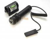 Green Laser Sight Pointer w/ Barrel & RIS Mount JG-10