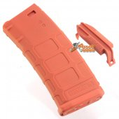 MAGPUL PTS 120rd PMAG M Version Mid-Cap Magazine Orange