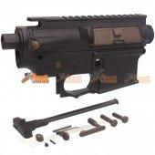A.P.S. ASR Receiver Set for No.2 Hybird M4 AEG Gearbox (Black)