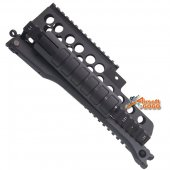 AGG G36K Aluminum Handguard with Bipod for airsoft G36K G36KV G36V AEG