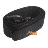 TMC Army Style Combat Velcro BELT Quick Release Assault - Black -Size: M