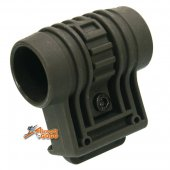 Element Tactical 1 inch 25mm RIS Flashlight Laser QD Side Mount - Olive Drab