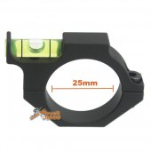 Army Force 25mm Ring Riflescope Spirit Bubble Level