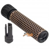 Army Force 7 inch QDC Suppressor 5.56 14mm CCW (Tan)