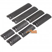 ENERGY SKIDPROOF TEXTURE TYPE RAIL COVER 8PCS BK