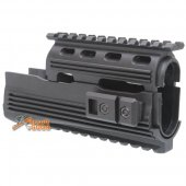 APS AK74 Type Tactical Railed Handguard for APS ASK 201 202 204P 208 AEG (Black)