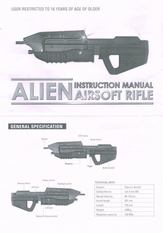 Assault Rifle Halo MA5D AEG - AirsoftGoGo