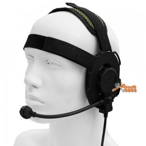 Building Fire Bowmen Headset (Black)