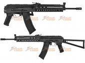 CYMA AK KTR RAS Assault Rifle Metal AEG (CM.040K, Black)