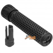 Army Force 7 inch QDC Suppressor 5.56 14mm CCW Black